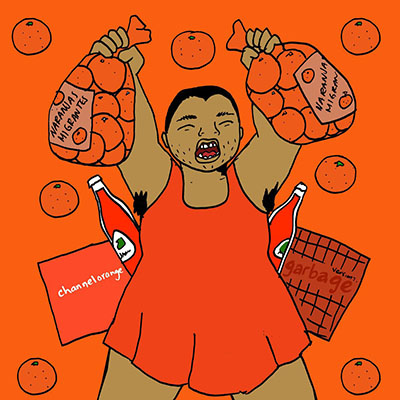 Gimme All Your Colors: Orange, illustration by Julio Salgado