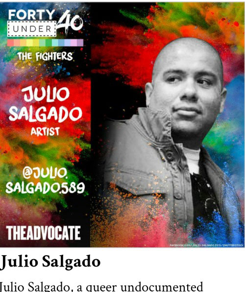 Forty Under 40: Visual artist Julio Salgado