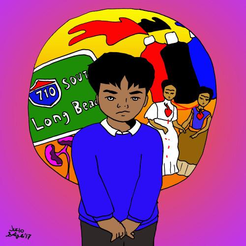 Teenage Immigrant Angst, illustration by Julio Salgado