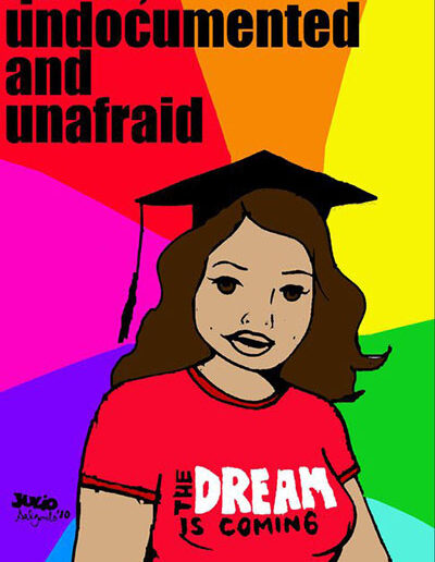 Queer, Undocumented and Unafraid: Yahaira, 2010.