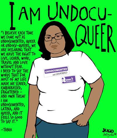 I Am Undocuqueer: Tania, 2012.