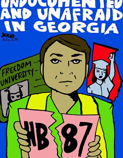 Undocumented and Unafraid in Georgia, 2011.