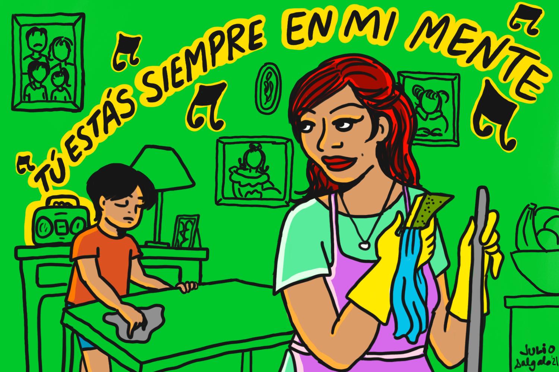 Juan Gabriel illustration for the L.A. TIMES, 2021